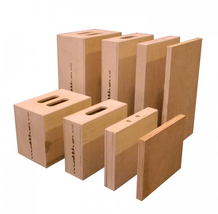 """Half Apple Box — 12"""" x 4"""" x 20"""""""