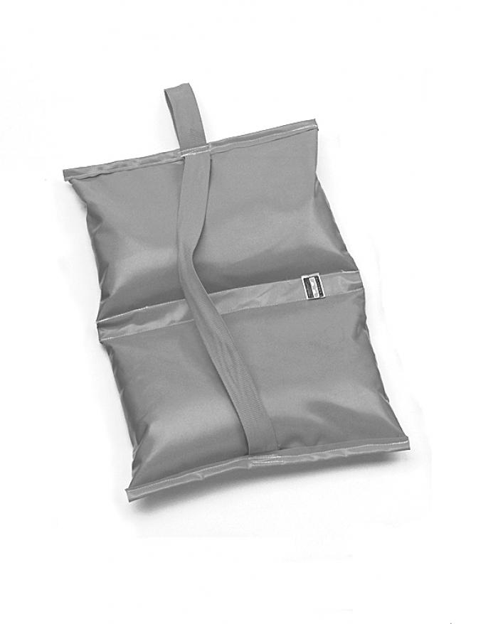25 lb Sandbag - Orange Water Repellent
