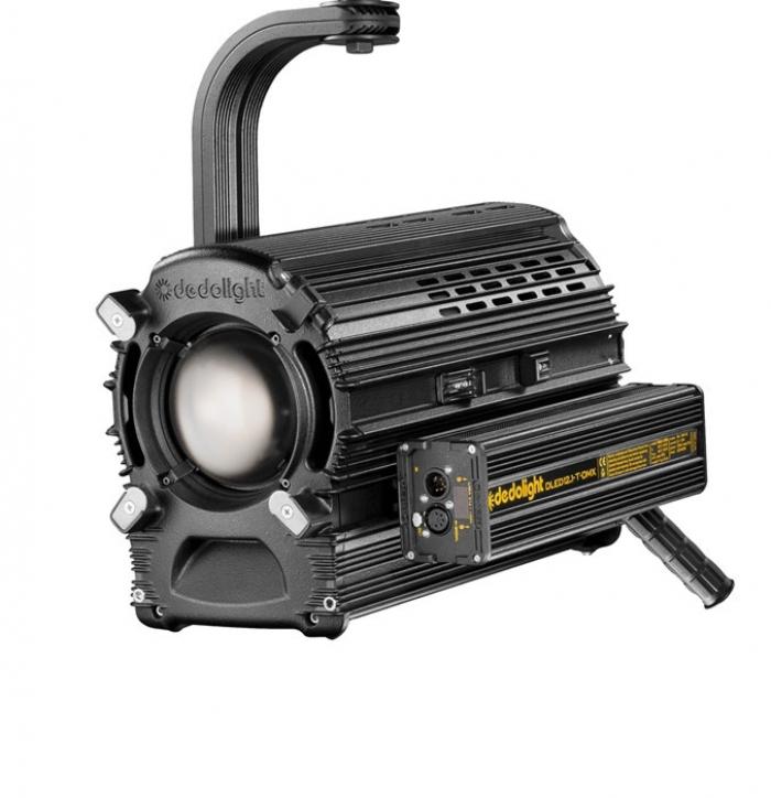 Dedolight 225W Focusing LED light head, tungsten incl. DMX power supply