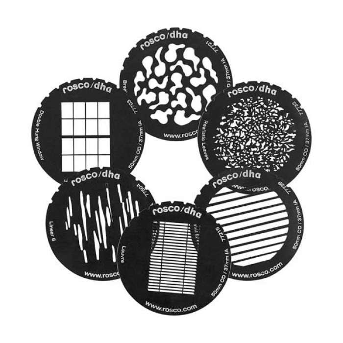 Gobo set for DP1S imagers (special size)