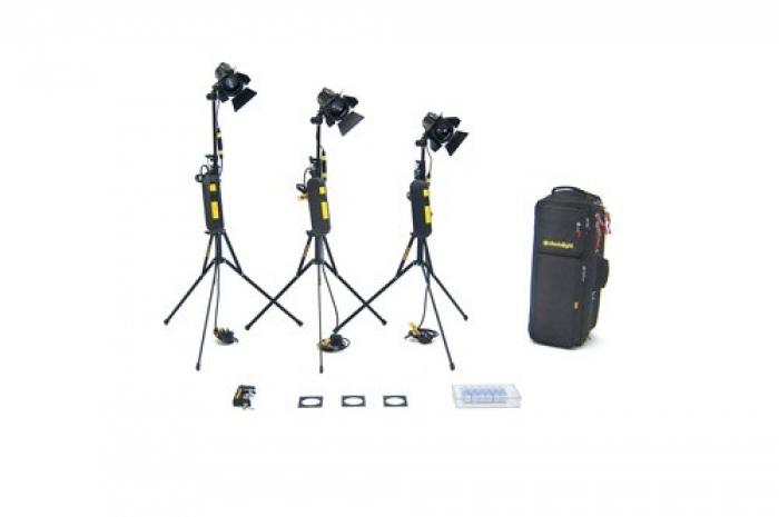 3 HEAD 150w Basic Dimmer Kit Soft Case