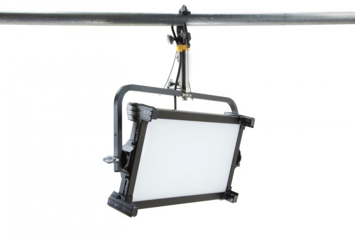 Kino Flo Celeb 250 DMX LED soft lighting fixture, Kelvin tuneable with colour gel presets