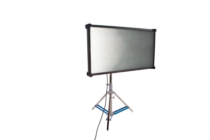 Kino Flo Celeb 850 DMX LED big soft lighting fixture, Kelvin tuneable with colour gel presets