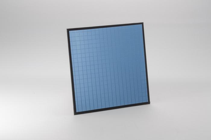 Dedolight EFLECT reflector multi-mirror blue 1, with magnet. 20 x 20 cm (7.9 x 7.9