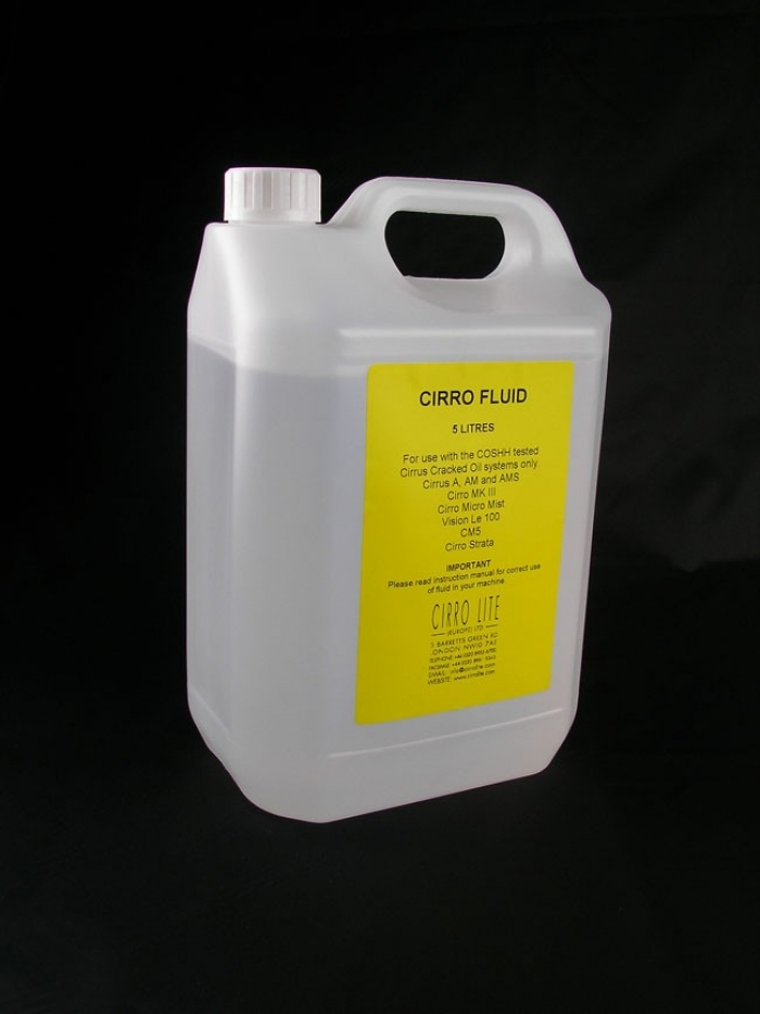 CIRRO MIST FLUID 5 LITRE BOTTLE
