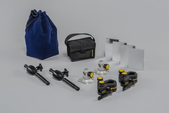 Dedolight Lightstream Reflector Kit - 25x25 cm reflectors CRLS parallel beam