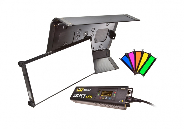 Kino Flo Select LED FreeStyle 31 lighting system with built-in colour filters