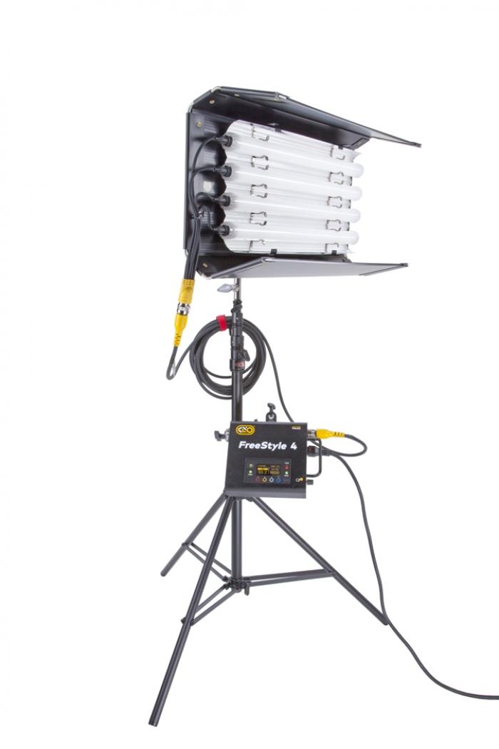 Kino Flo FreeStyle T24 LED DMX System, Universal, LED Tubes RGBWW 2ft 2 foot feet 4bank