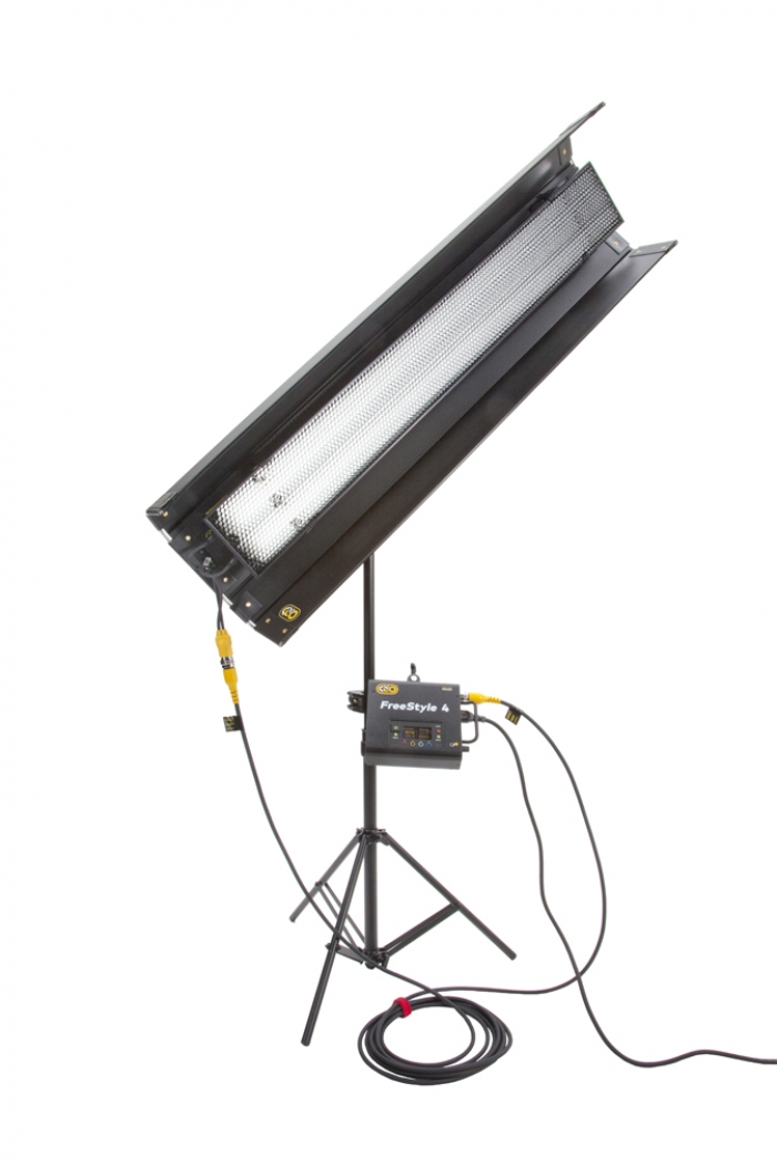 Kino Flo FreeStyle T42 LED DMX System, Universal, LED Tubes RGBWW 4ft 4 foot feet 2bank