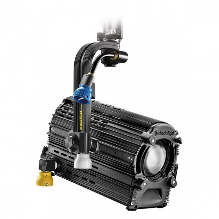 Dedolight 225W Focusing LED light head, daylight incl. DMX power supply, pole operated