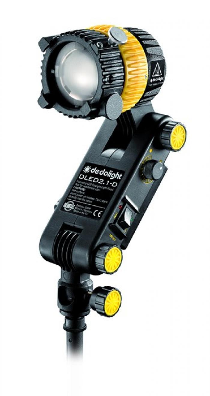 Dedolight 20W Focusing LED light head, daylight with integrated ballast