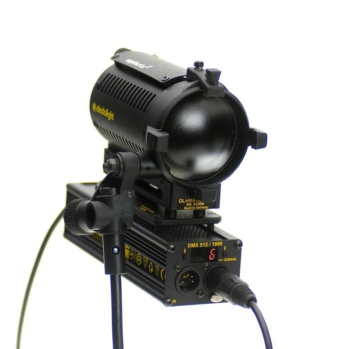 Dedolight DLHM4-300DMX Aspherics² light head, with DMX dimming control