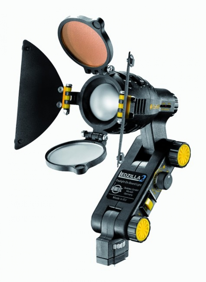 Dedolight Ledzilla2 Daylight Mini on-board LED light head, 8W