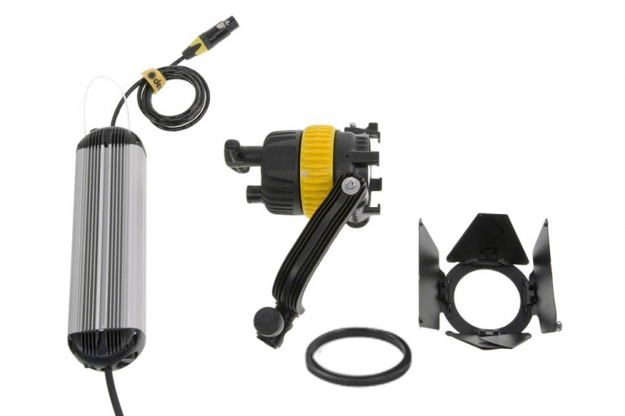 Dedolight DLED4 40W LED Tungsten System, includes Fixture, Barndoors, Dimmer (90v-264v)