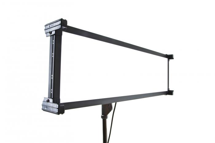 Kino Flo Celeb 450 DMX LED soft lighting fixture, Kelvin tuneable with colour gel presets