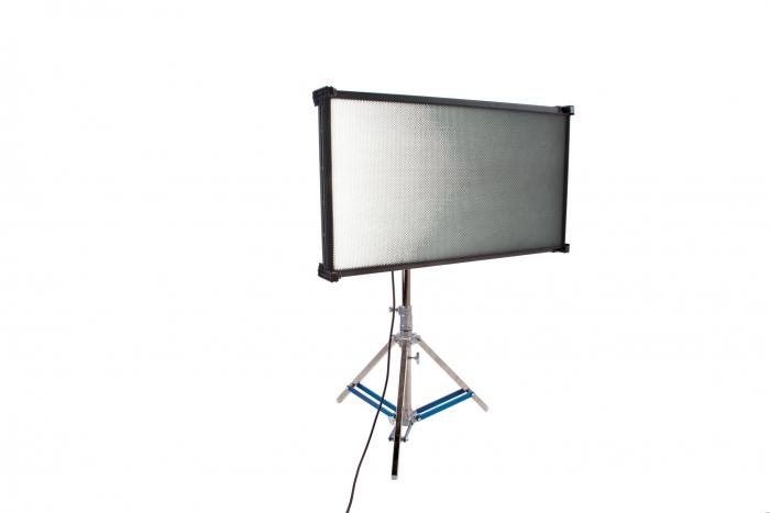 Kino Flo Celeb 850 DMX LED big soft lighting fixture, Kelvin tuneable with colour gel presets