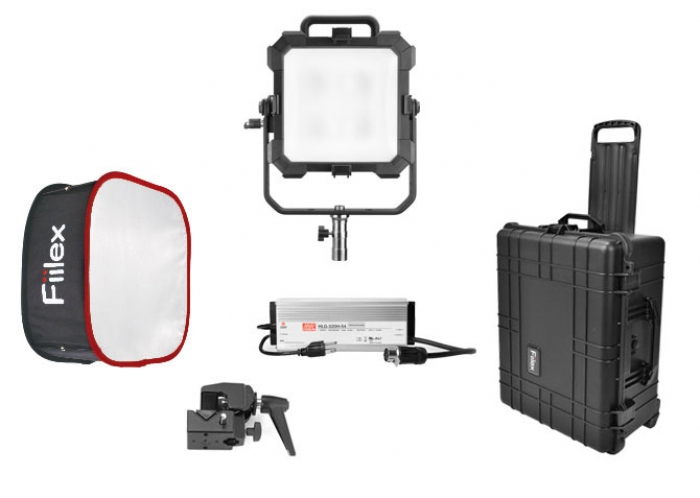 H142 Travel Kit Matrix II RGBW fiilex led light lighting fresnel arri aputure full colour