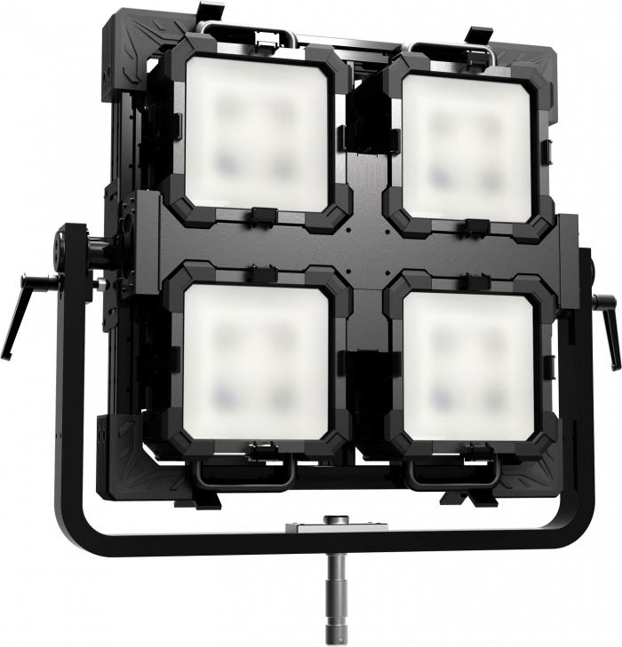 QUAD fiilex led punch light 4k digital sputnik arri fresnel