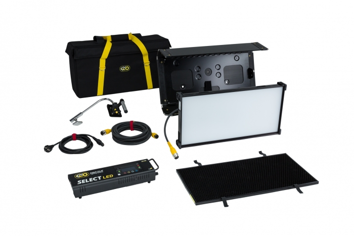 Kino Flo Select LED FreeStyle 21 lighting system with built-in colour filters, kit with soft case
