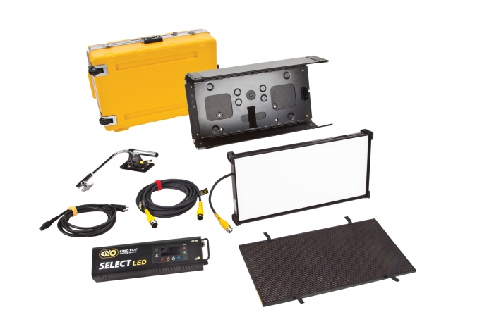 Kino Flo Select LED FreeStyle 21 lighting system with built-in colour filters, kit with flight case