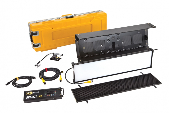 Kino Flo Select LED FreeStyle 31 lighting system with built-in colour filters, kit with hard case