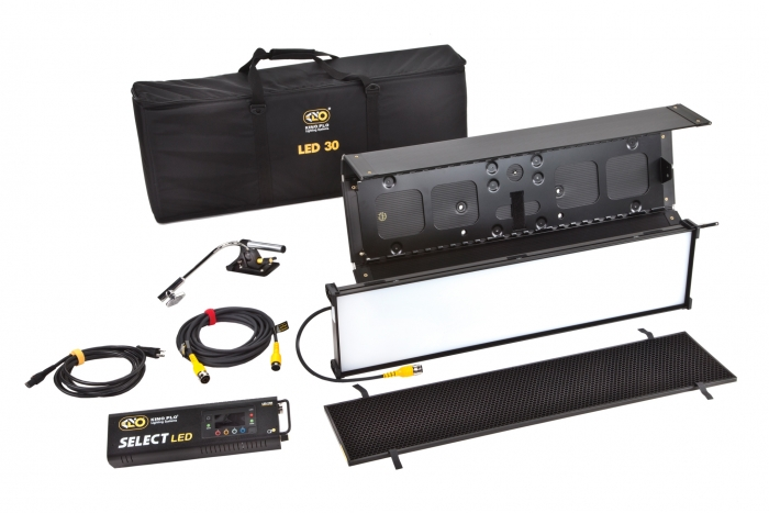 Kino Flo Select LED FreeStyle 31 lighting system with built-in colour filters, kit with soft case