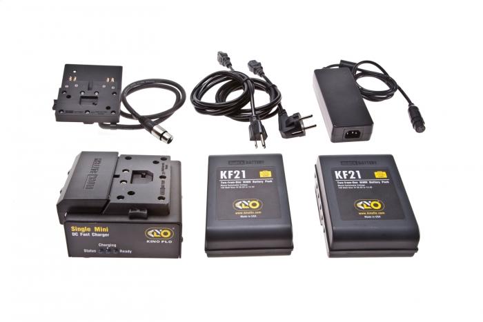Kino Flo Block/KF21 Single Battery System, 140Whr, 28.8V (2 x Battery)