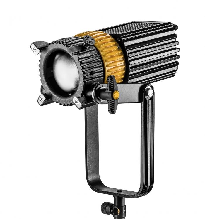 Dedolight 300W LED Bi-Colour System, includes Fixtures, Barndoors, Dimmer DLED10 DT10