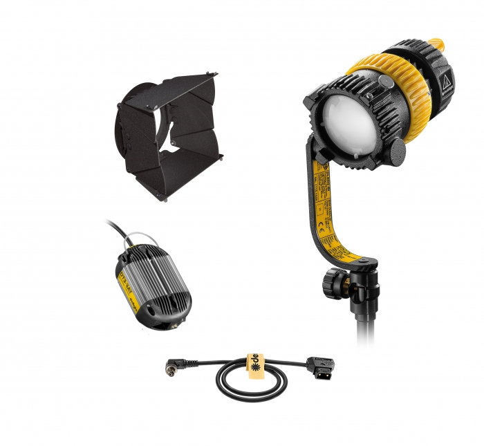 Dedolight DLED3 turbo tungsten focusable led lighting system