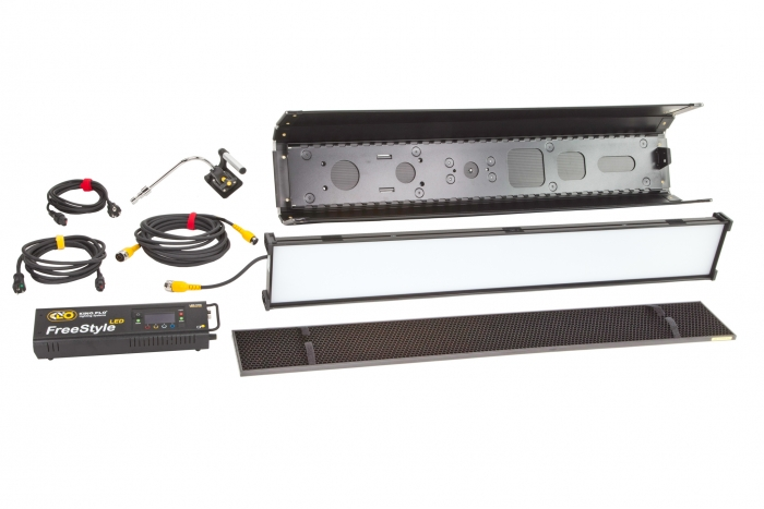 Kino Flo Select LED FreeStyle 41 lighting system with built-in colour filters