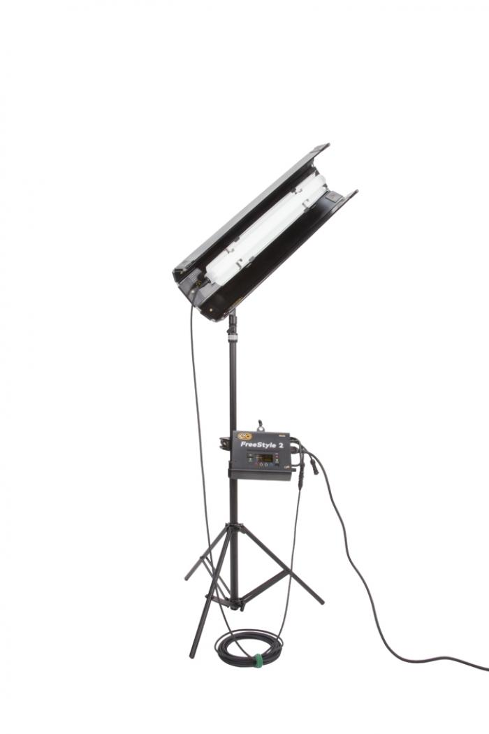 Kino Flo FreeStyle T21 LED DMX System, Universal, LED Tubes RGBWW 2ft 2 foot feet single bank
