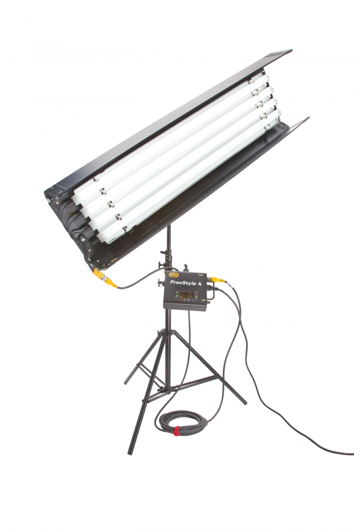 Kino Flo FreeStyle T44 LED DMX System, Universal, LED Tubes RGBWW 4ft 4 foot feet 4bank