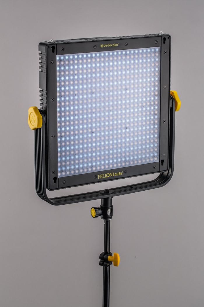 Tecpro Felloni Turbo by Dedolight bi-colour LED panel for film and studio lighting